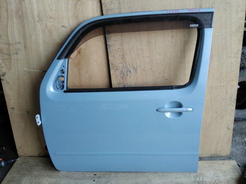 Дверь Daihatsu Mira Cocoa L675S KF передняя левая