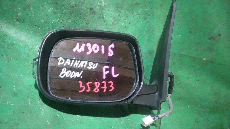 Зеркало Daihatsu Boon M301S K3-VE левое