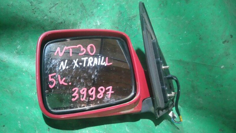 Зеркало Nissan X-Trail NT30 QR20DE левое