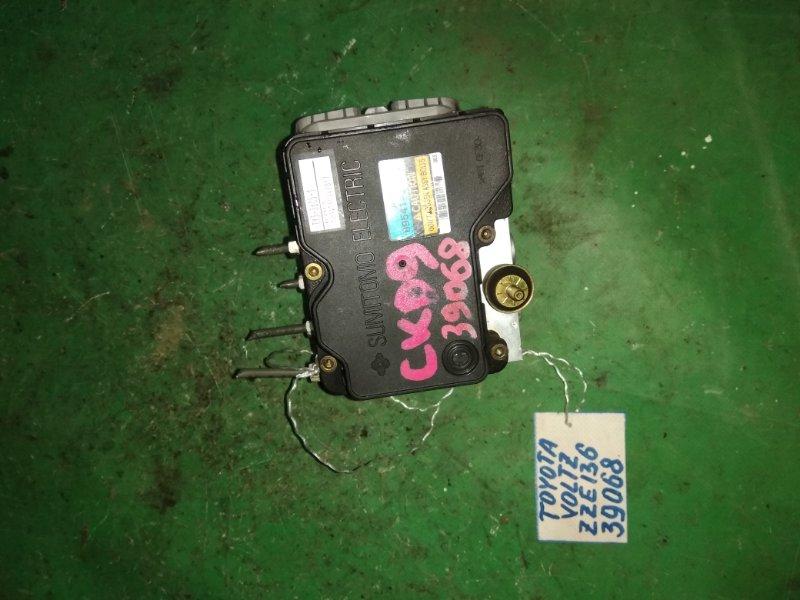Блок abs Toyota Voltz ZZE136 1ZZ-FE 2002