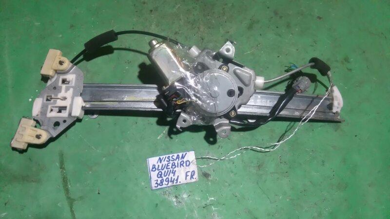 Стеклоподъемный механизм Nissan Bluebird QU14 QG18DE передний правый