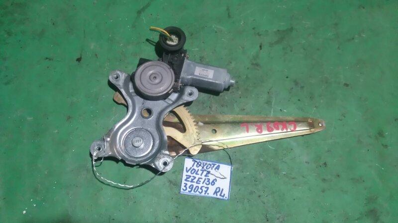 Стеклоподъемный механизм Toyota Voltz ZZE136 1ZZ-FE 2002 задний левый