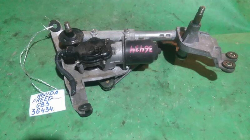Мотор стеклоочистителя Honda Freed GB3 L15A передний