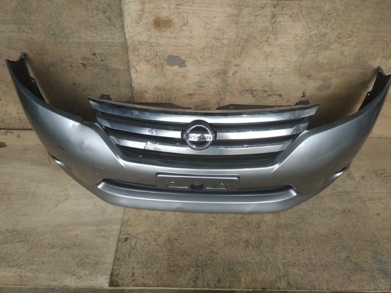 Бампер Nissan Lafesta CWEFW PE передний