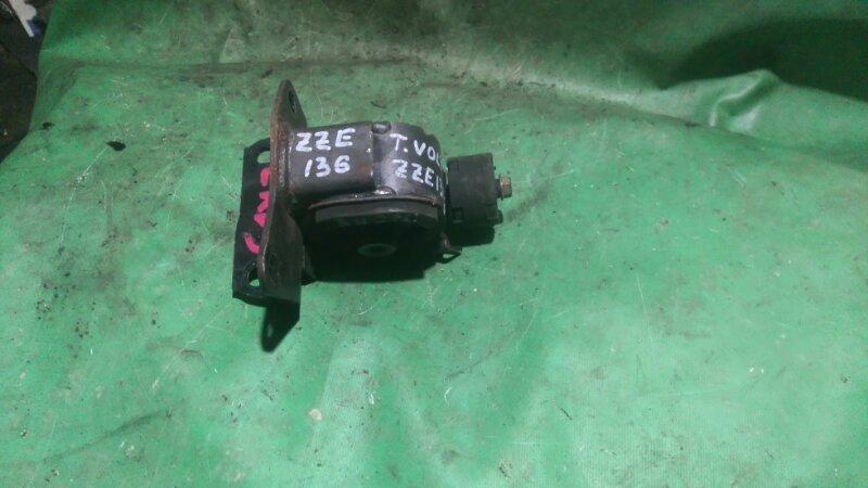 Подушка двигателя Toyota Voltz ZZE136 1ZZ-FE 2002 левая