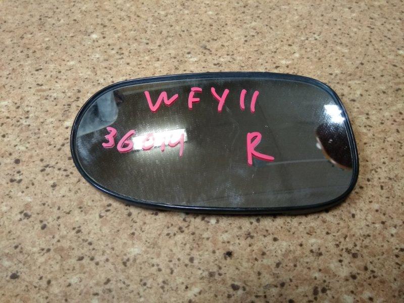 Зеркало-полотно Nissan Wingroad WFY11 QG15DE правое