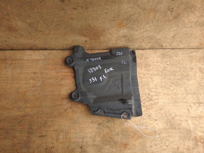 Защита двигателя Nissan Teana J31 VQ23DE левая