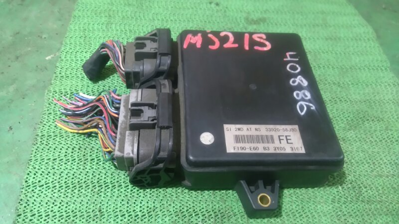 Блок efi Mazda Az Wagon MJ21S K6A