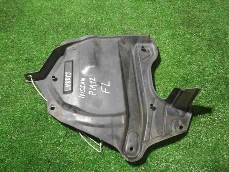 Защита двигателя Nissan Liberty PM12 SR20DE левая