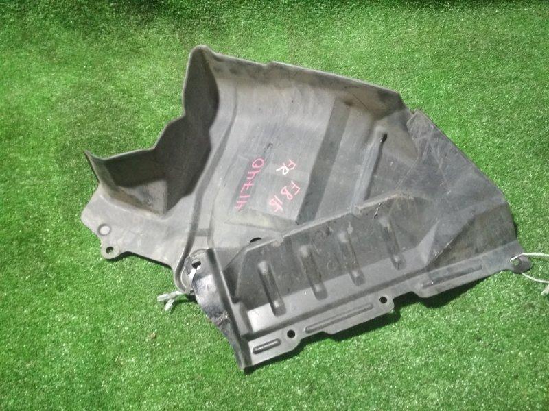 Защита двигателя Nissan Sunny FB15 QG15DE 2000 передняя правая