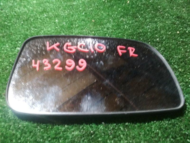 Зеркало-полотно Toyota Passo KGC10 1KR-FE 2004 переднее правое