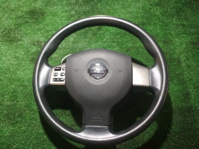 Руль Nissan Tiida C11 HR15DE 2008