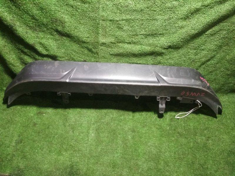 Накладка на бампер Toyota Prius ZVW50 2ZR-FXE задняя