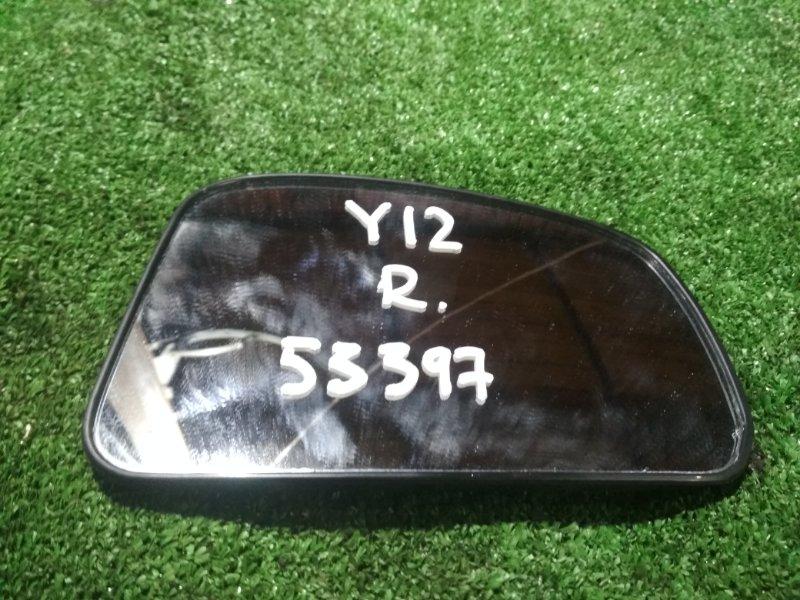 Зеркало-полотно Nissan Wingroad Y12 HR15DE правое