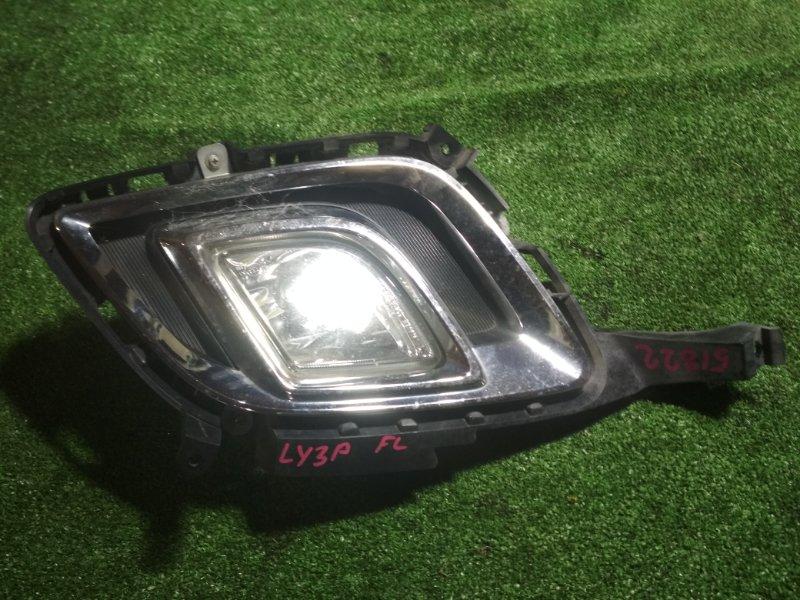 Туманка Mazda Mpv LY3P L3-VE передняя левая