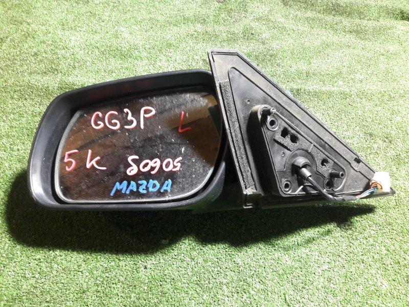 Зеркало Mazda Atenza GG3P L3-VDT левое