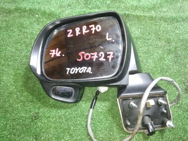Зеркало Toyota Noah ZRR70 3ZR-FE левое