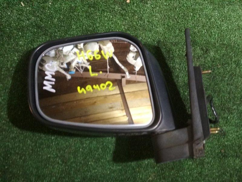 Зеркало Mitsubishi Pajero Io H66W 4G93 левое