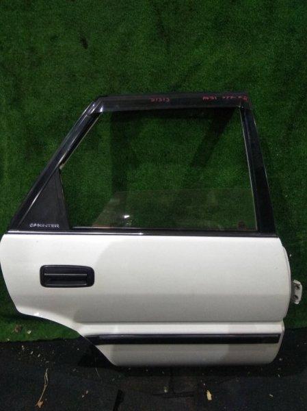 Дверь Toyota Sprinter AE91 5A-F 1989 задняя правая