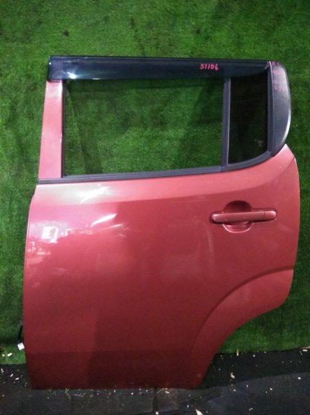 Дверь Nissan Moco MG33S R06A задняя левая