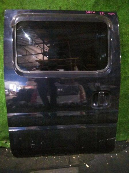Дверь боковая Suzuki Every DA62W K6AT задняя правая