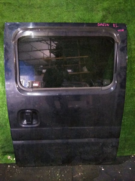 Дверь боковая Suzuki Every DA62W K6AT задняя левая