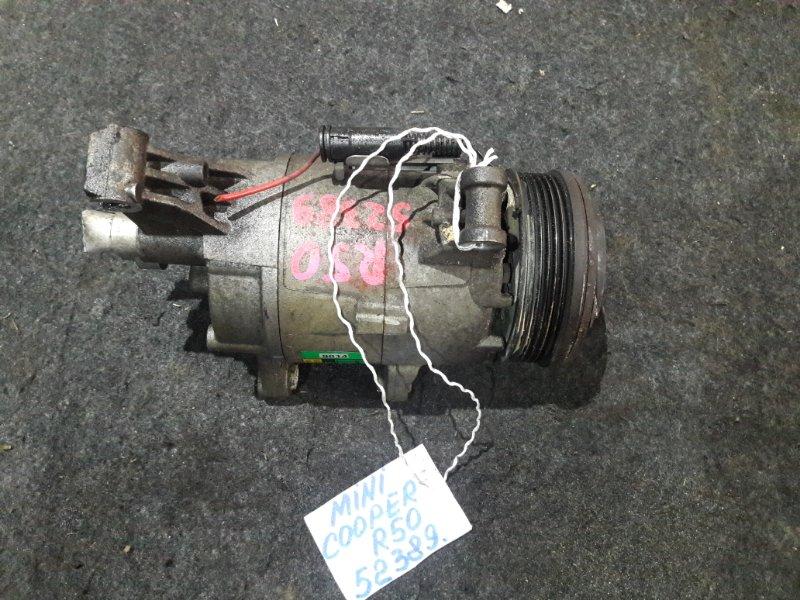 Компрессор кондиционера Mini Cooper R50 MF16