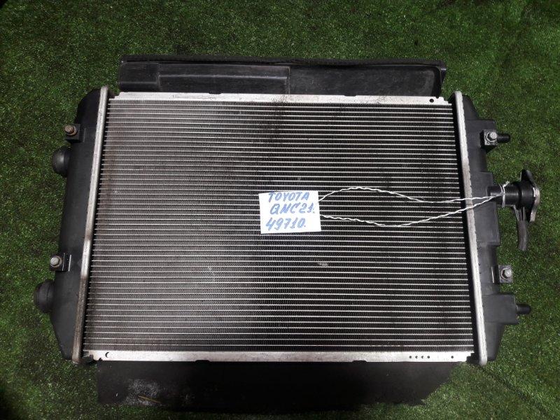 Радиатор Toyota Bb QNC21 3SZ-VE