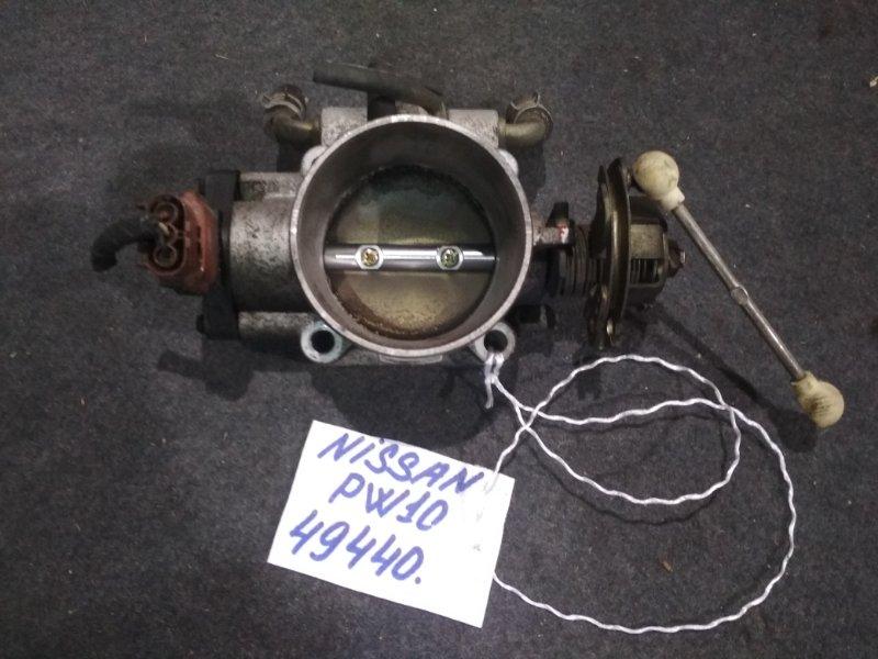 Заслонка дроссельная Nissan Avenir PW10 SR18DE