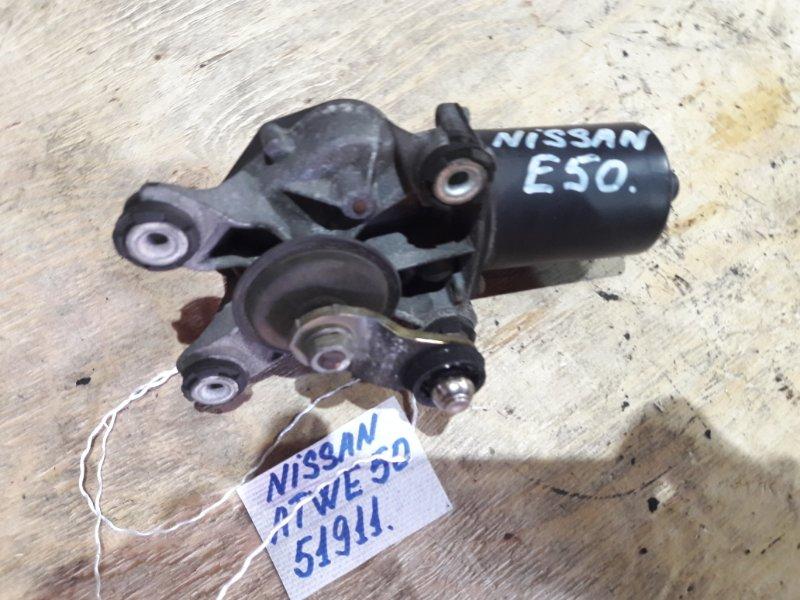 Мотор стеклоочистителя Nissan Elgrand ATWE50 ZD30DDTI 2001 передний