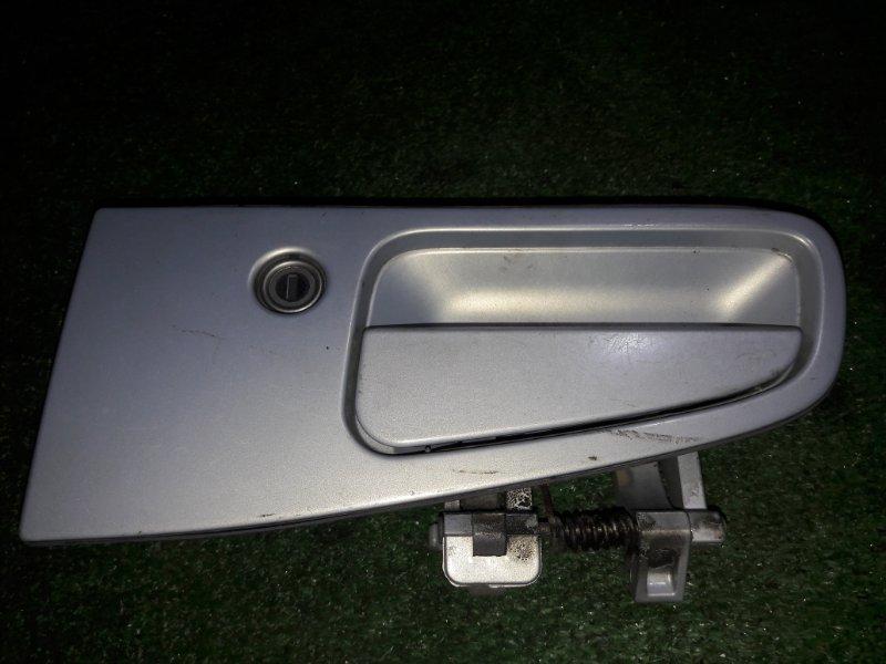 Ручка двери внешняя Nissan Elgrand ATWE50 ZD30DDTI 2001 передняя левая
