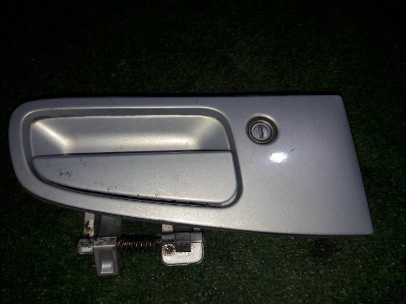 Ручка двери внешняя Nissan Elgrand ATWE50 ZD30DDTI 2001 передняя правая