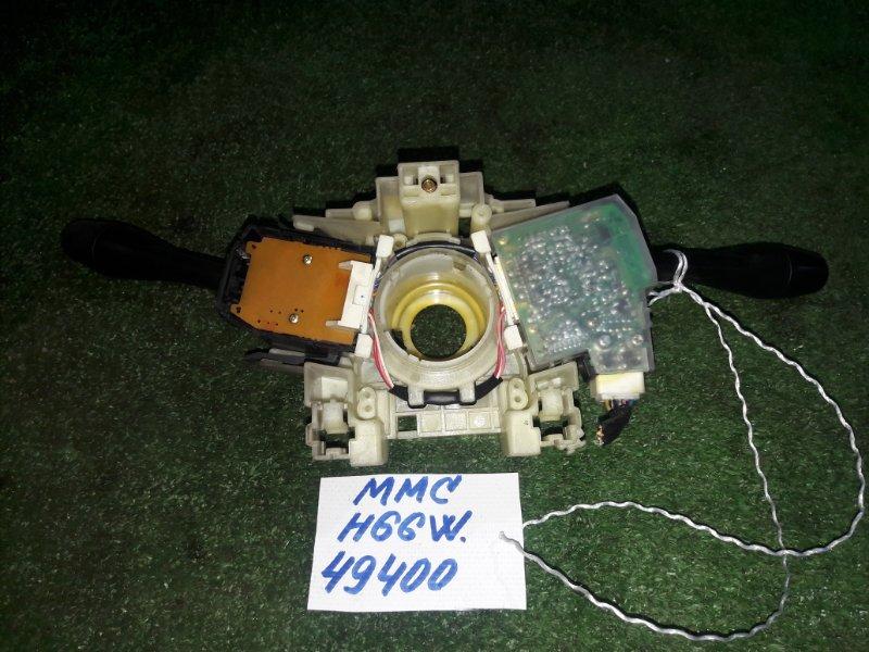 Переключатель поворотов Mitsubishi Pajero Io H66W 4G93