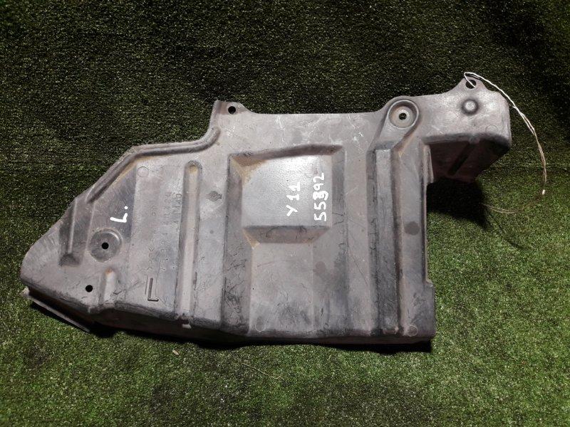 Защита двигателя Nissan Ad VFY11 QG15DE передняя левая