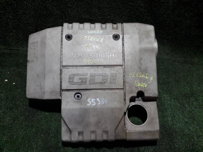 Крышка двигателя Mitsubishi Pajero Io H66W 4G93