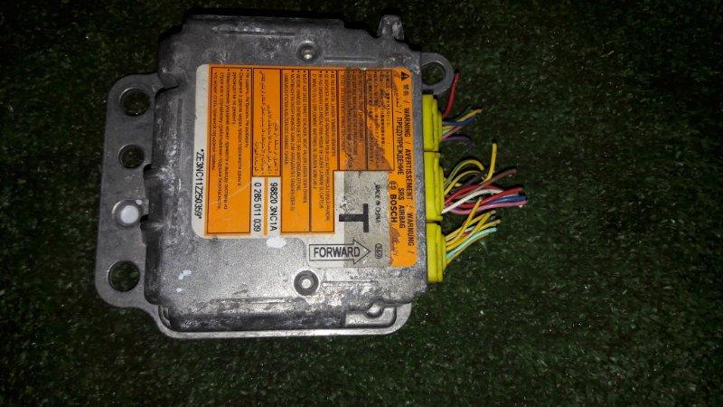Блок управления airbag Nissan Leaf ZEO EM57