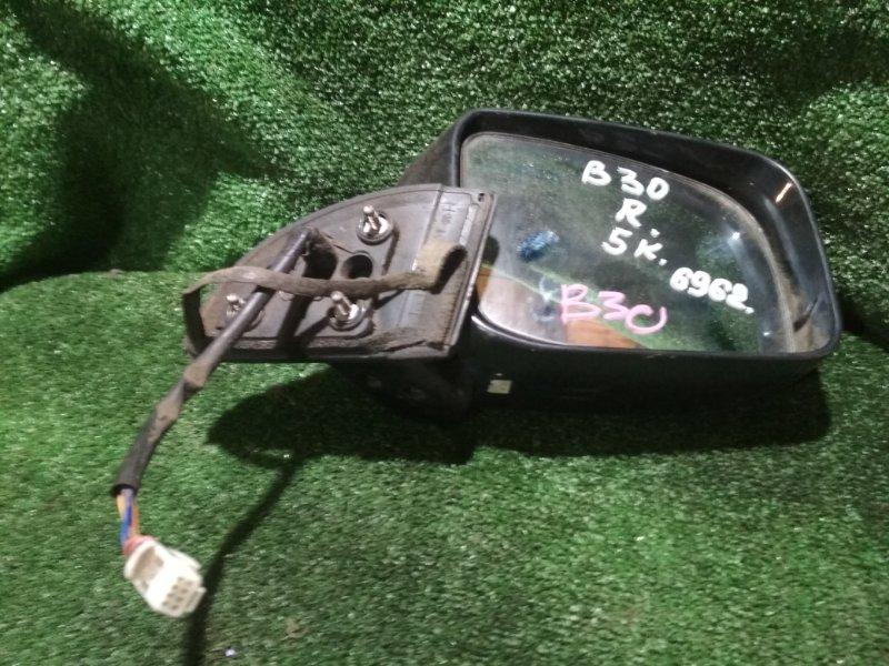 Зеркало Nissan Lafesta B30 MR20DE переднее правое