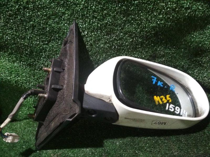 Зеркало Nissan Stagea M35 VQ25DD переднее правое