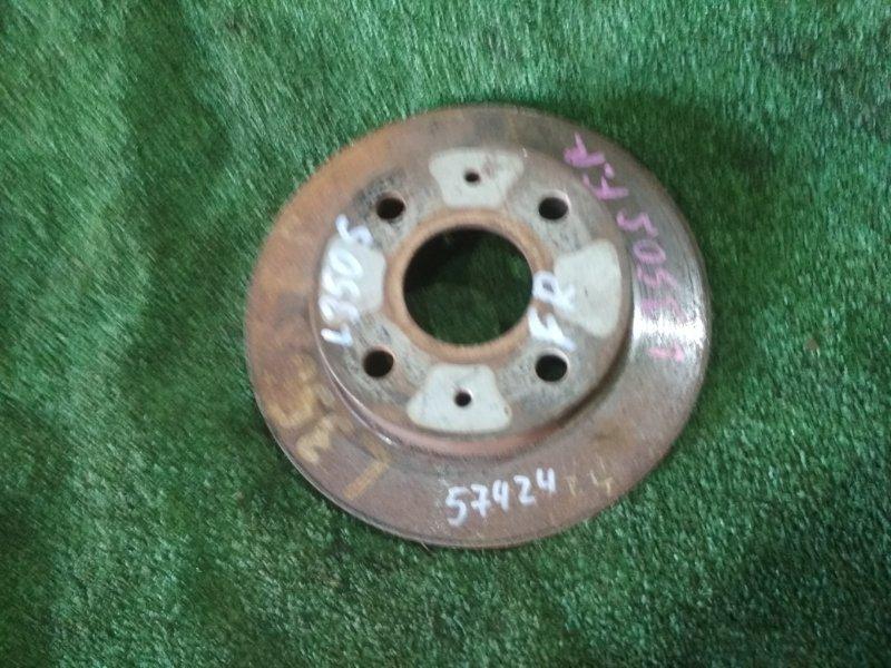 Тормозной диск Daihatsu Mira E:s LA350S KF передний