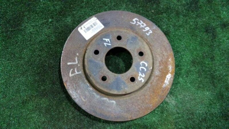 Тормозной диск Nissan Serena C25 MR20DE передний