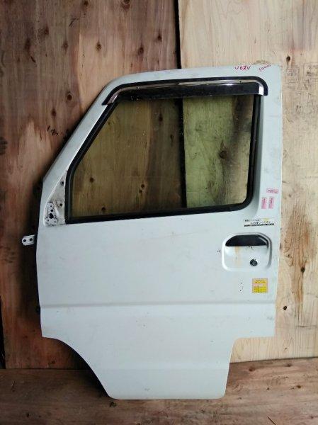 Дверь Mitsubishi Minicab U61V 3G83 передняя левая