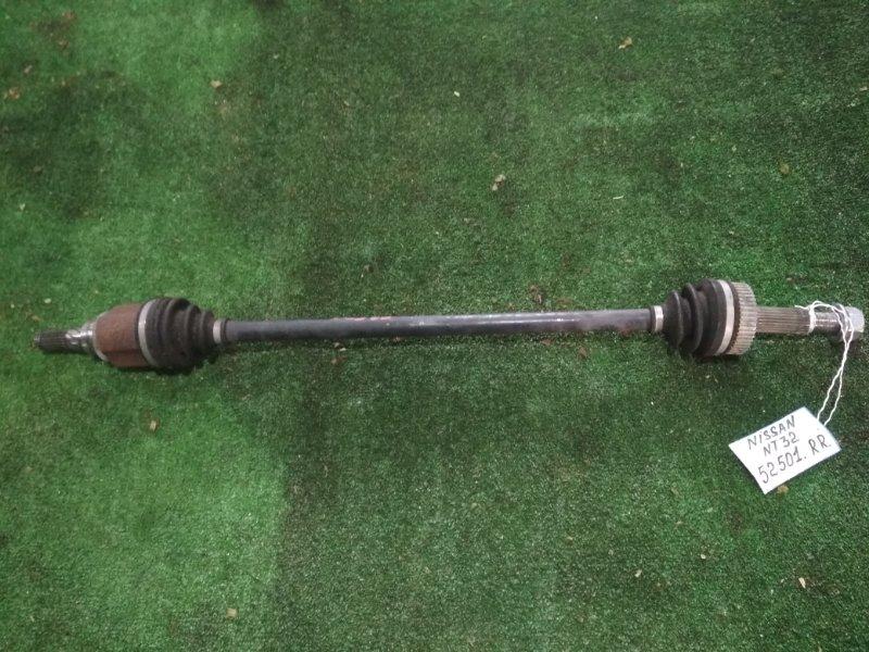 Привод Nissan Xtrail NT32 MR20DD задний правый