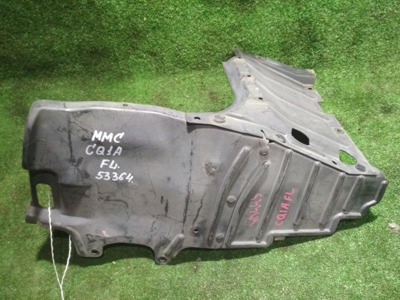 Защита двигателя Mitsubishi Dingo CQ1A 4G13 левая