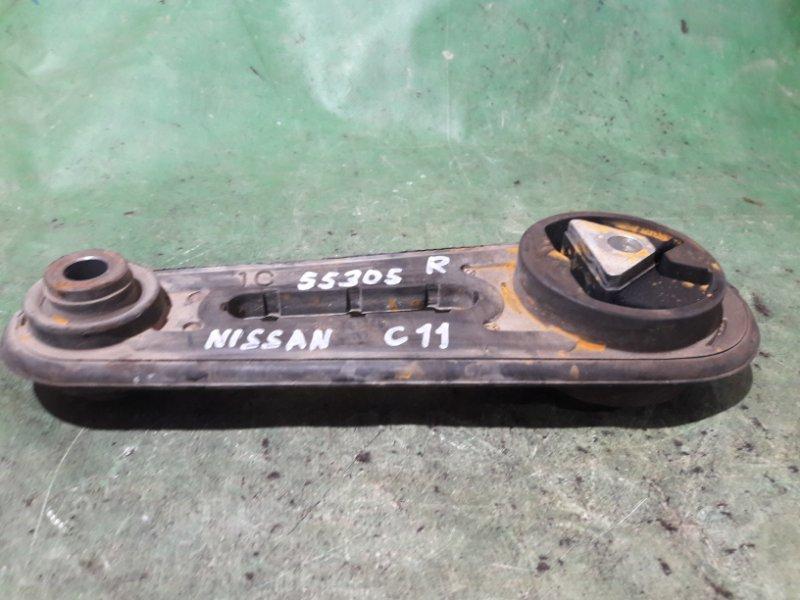 Подушка двигателя Nissan Tiida C11 HR15DE задняя