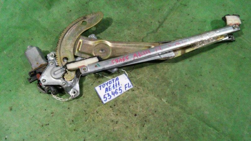 Стеклоподъемный механизм Toyota Corolla Spacio AE111 4A-FE передний левый