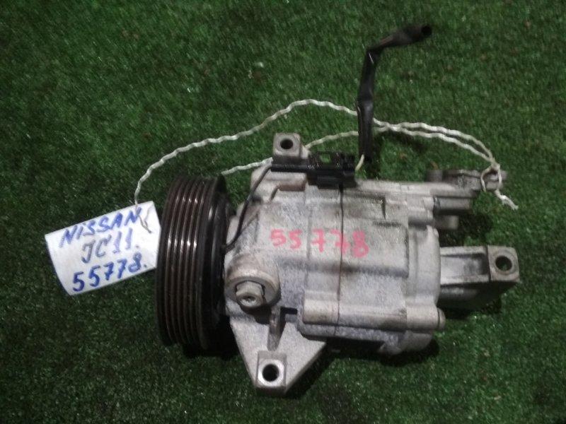 Компрессор кондиционера Nissan Tiida JC11 MR18DE