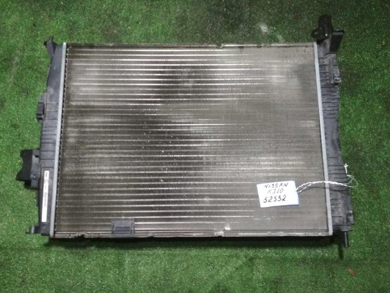 Радиатор Nissan Dualis KJ10 MR20DE