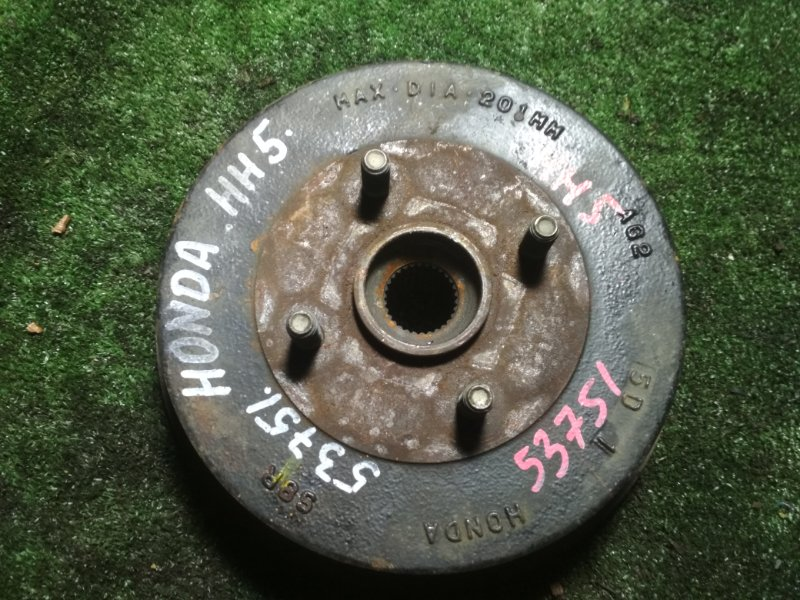 Тормозной диск Honda Acty HH5 E07Z задний