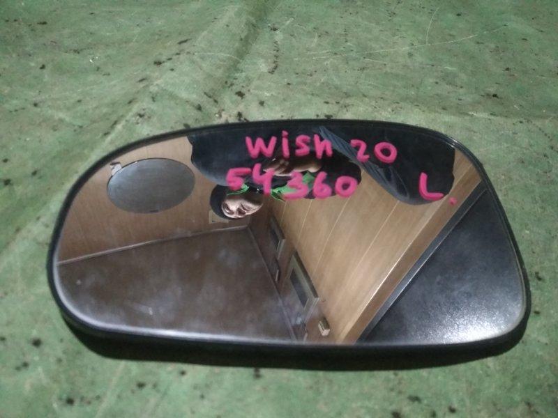 Зеркало-полотно Toyota Wish ZGE20 2ZR-FAE левое