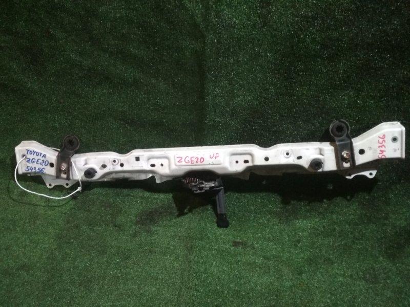 Планка телевизора Toyota Wish ZGE20 2ZR-FAE верхняя